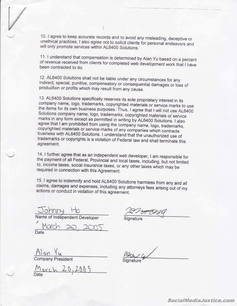 Contract pg 2