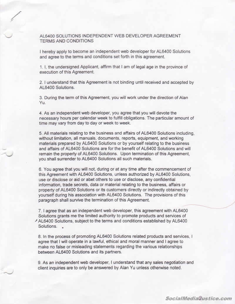 Contract pg 1